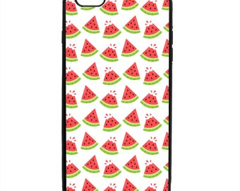 Watermelon Slices Print Pattern Phone Case Samsung Galaxy S5 S6 S7 S8 S9 Note Edge iPhone 4 4S 5 5S 5C 6 6S 7 7S 8 8S X SE Plus