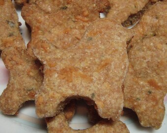 Organic Dog Treats - Cheez Poodles - All Natural Dog Treats Organic Gourmet Vegetarian - Shorty's Gourmet Treats