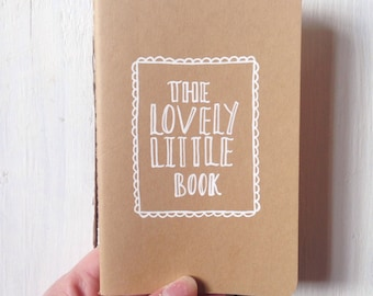 Hand Illustrated | Lovely Little Book | Mini Moleskin Notebook