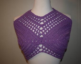 Crochet Crop Top/Swim Top