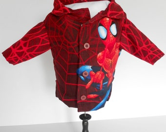 Red SpiderMan Dog Shirt-One-of-a-kind
