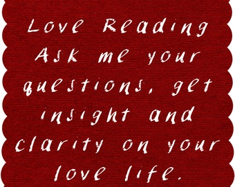 Long Love Reading! Real Psychic, Real Answers, HONEST Compassionate, and Genuine! I want to help you! Psychic, Love, Reading, Tarot