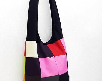 Women bag Handbags Thai Cotton Canvas bag Hippie bag Hobo bag Boho bag Patchwork bag Sling bag Shoulder bag Tote Crossbody bag Purse PWC23