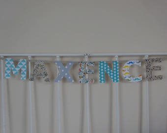 fabric name 7 letters Maxence Garland