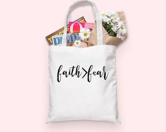 Faith Over Fear | Faith Over Fear Tote bag