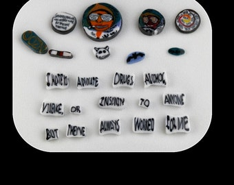 Gonzo Set by Greg Chase Murrine Boro Coins - 120