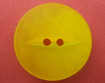 12 yellow buttons 18mm (1449) button