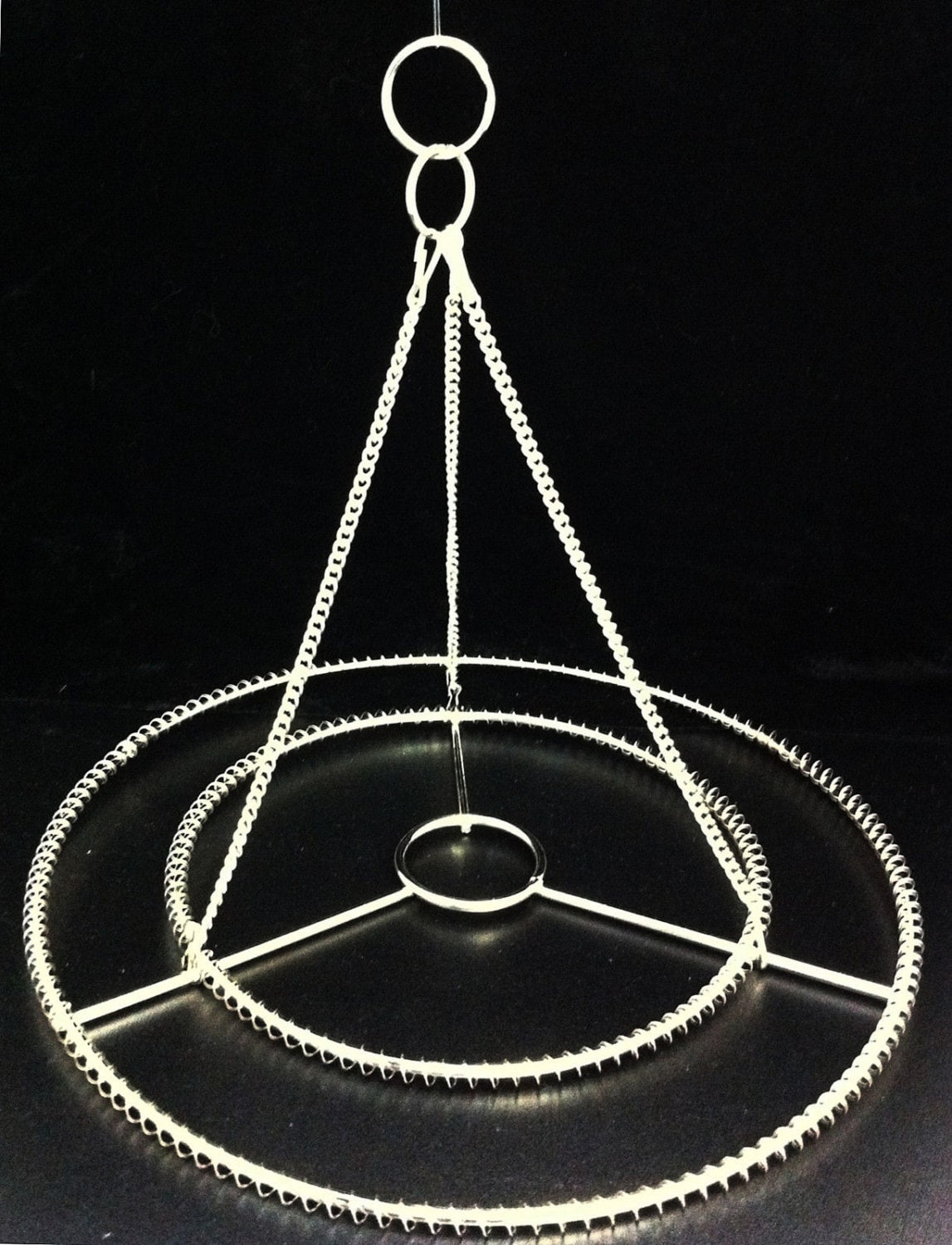 2pcs 10 or 14 w stainless steel chandelier frame zoom aloadofball Images