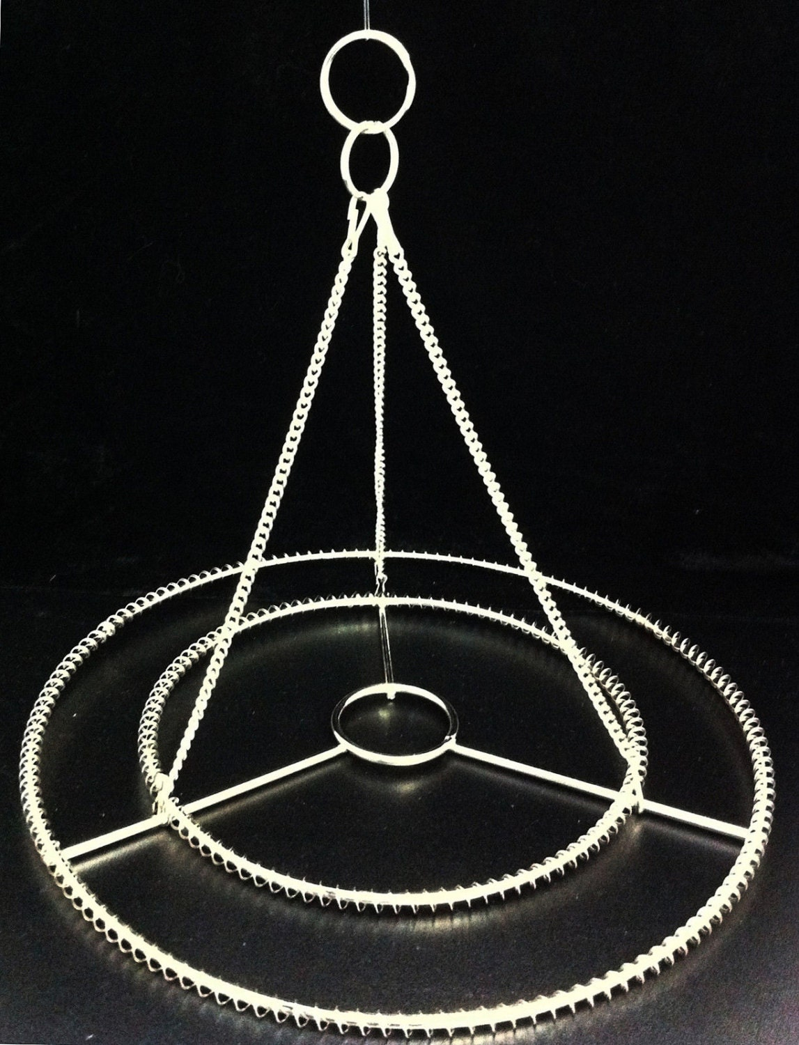 2pcs 10 or 14 w stainless steel chandelier frame zoom arubaitofo Gallery
