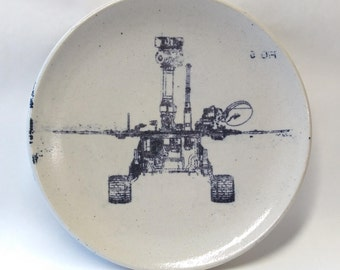 Mars Rover Lithographed Plate