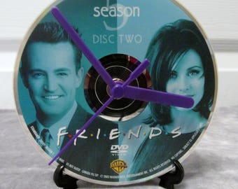 Friends DVD Clock Upcycled TV Show #2