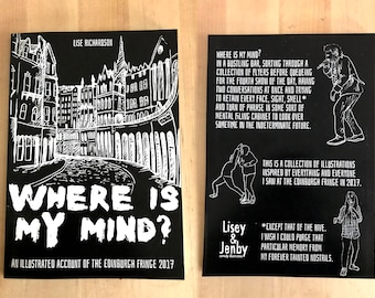Where is my mind? An illustrated account of the Edinburgh Fringe 2017 book