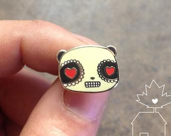 Sugar Panda: 14k Gold Plated Lapel Pin