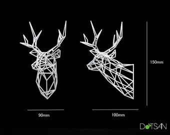 3D printed Stag Deer Trophy Head
