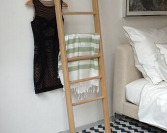 TB.3 Modern day Valet Stand/ Clothes Organiser in Oak.