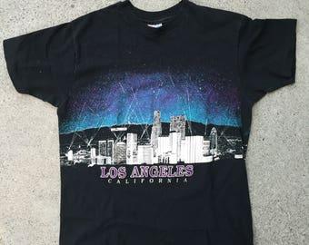 Vintage Los Angeles Panoramic T-shirt