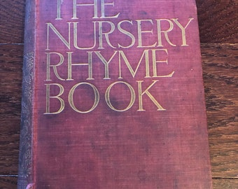 The Nursery Rhyme Book by Andrew Lang