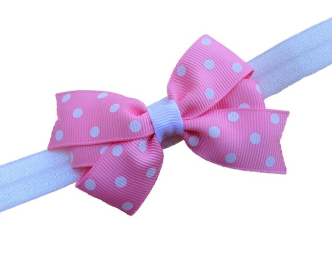 Baby headband - baby girl headband, baby headband bows, baby headbands, newborn headband, baby bows, baby girl bows, baby bow headband, bows