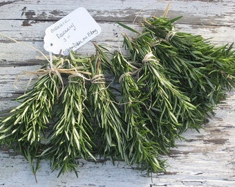 50 Organic Rosemary Sprigs for DIY Favors Rustic wedding favors Fragrant /Wedding Invitations Settings /Loose sprigs / RESERVE Today