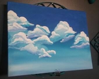blue cloud dance