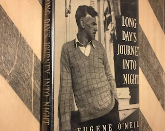 Long Day's Journey into Night by Eugene O' Neill (1956) hardcover book