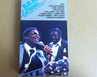 B.B. King and Friends A Night of Blistering Blues (VHS)