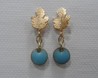 Earrings Lime