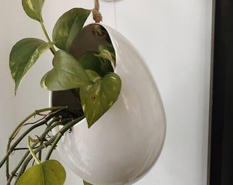 Hanging Pod Planter Stoneware MADE TO ORDER