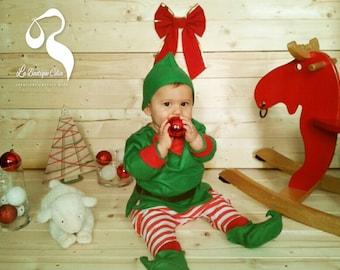 Baby Santa's Elf costume