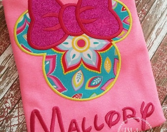 Custom embroidered Disney Inspired Vacation Shirts for the Family! 763