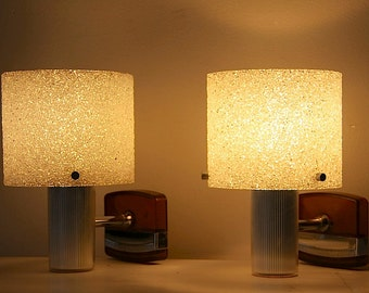 Mid Century Modern Wall Lights Wall Sconces Set Of 2 Wall Lights Plexi Glass Sugar Shades