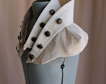 High Neck Collar Avant-Garde Steampunk Capelet s, m, l, or xl