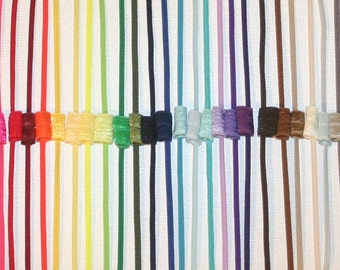 Skinny Headbands - CHOOSE 12 - 1/8 Inch Elastic  Lots of Colors Newborn Infant Toddler Teen Adult