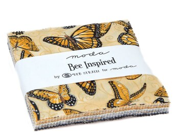 Bee Inspired by Deb Strain fabric Charm Pack 42 - 5"