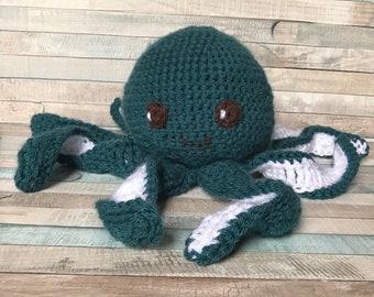 Octopus Crochet Amigurumi Plush