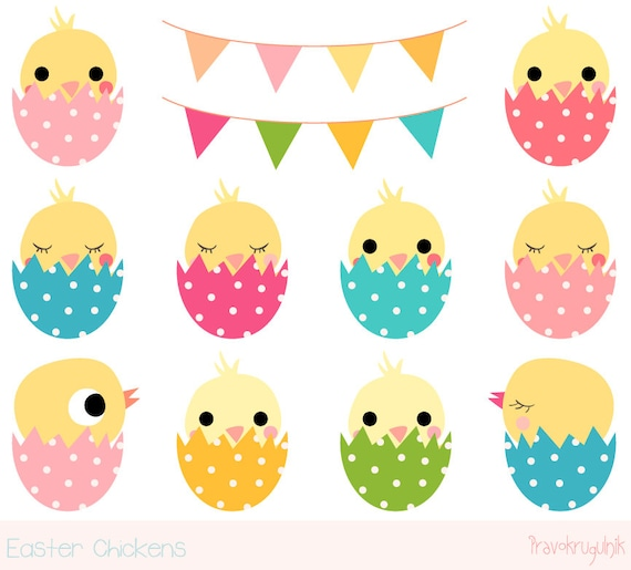 easter chick clipart cute chicken clipart kawaii chicken clip art rh etsystudio com easter chick clipart free easter chick clipart free