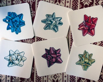 Handmade Greeting Cards - The Bow Collection - 6