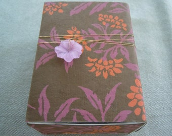 Orange Flowers Message Box
