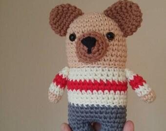 """Little bear amigurumi """"bottom of the wool"""""""
