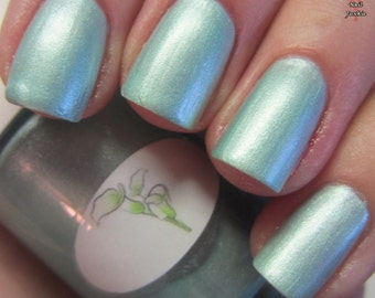 Pastel Green Goddess Nail Polish
