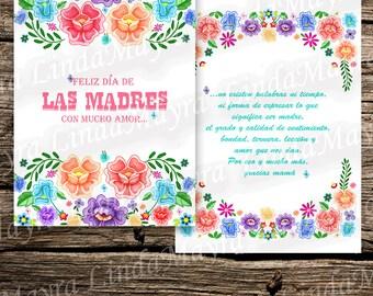 DIY Mother's day Card DIa de las madres