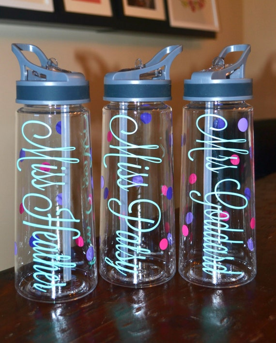 Water Bottle For Office: Personalized Water Bottles Customer Gift Office Gift