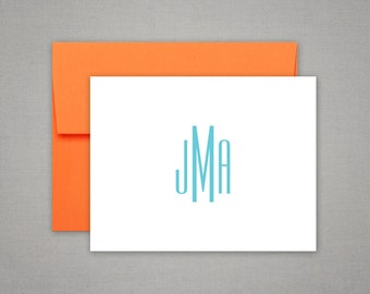 Personalized Stationery  - Monogrammed Gift Thank You Notes - Personalized Stationary