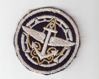 Vintage Boy Scouts of America Sea Scout Patch Old Collectible BSA Free Shipping