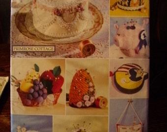 Butterick Printed Pattern ~ Butterick 4795 ~ One Size ~ 1996 Pin Cushions