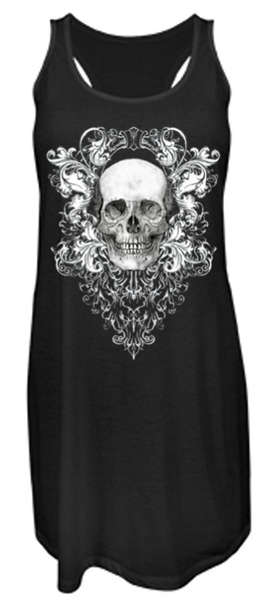 Skull Racer Back Dress