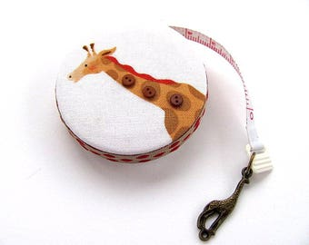 Measuring Tape with Giraffes Pocket Retractable Tape Measure