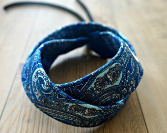 Paisley Camera Strap - Blue Paisley DSLR Camera Strap - Photography Accessories - Handmade Neck Strap - Personalized Camera Strap