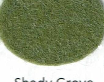 Wool Blend Felt - Shady Grove - Green Family