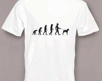 Evolution to Boxer Dog t-shirt Funny Dog T-shirt sizes Sm To 2XXL